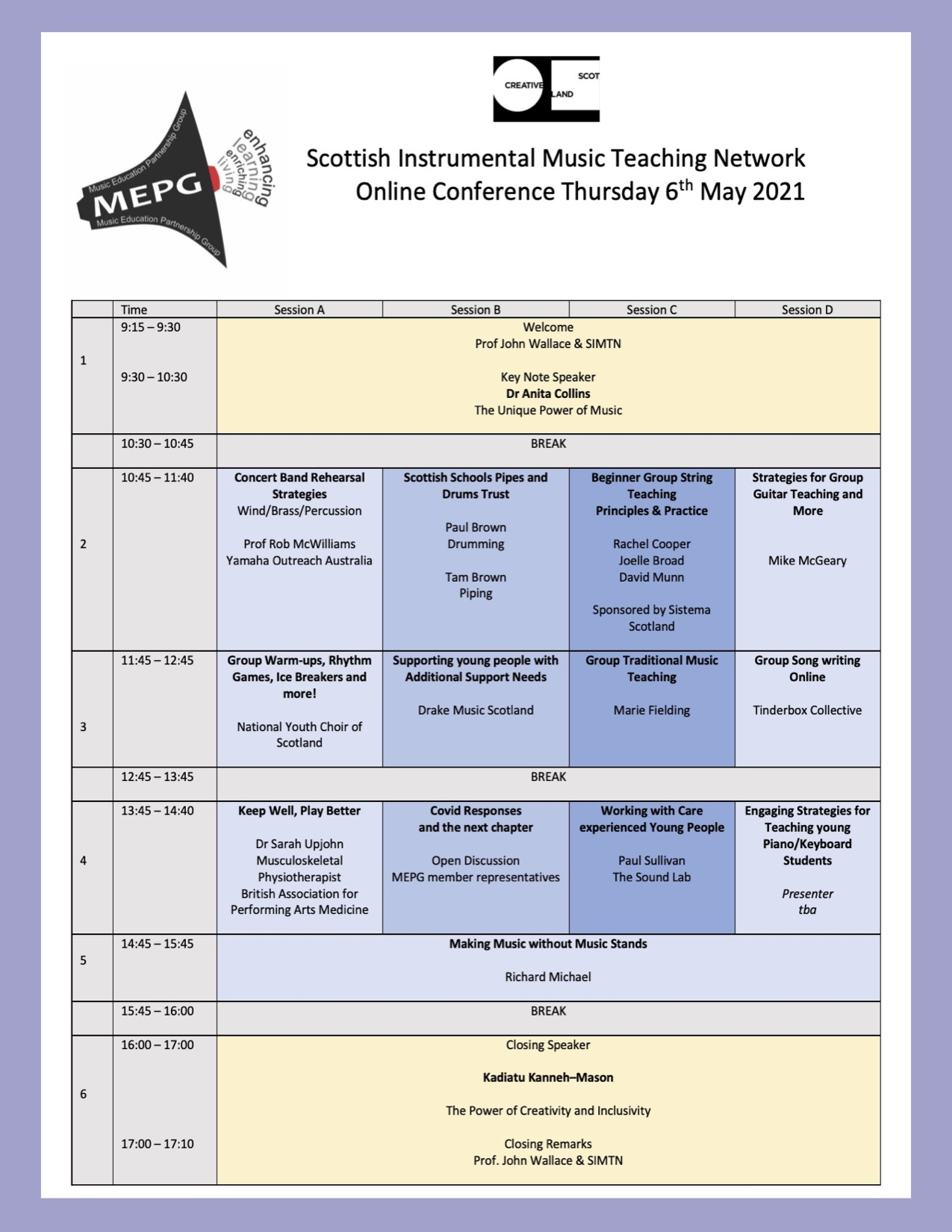 SIMTN Conference schedule 210420