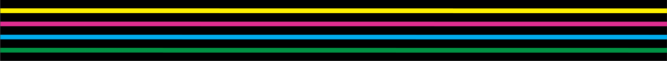 colourful stave